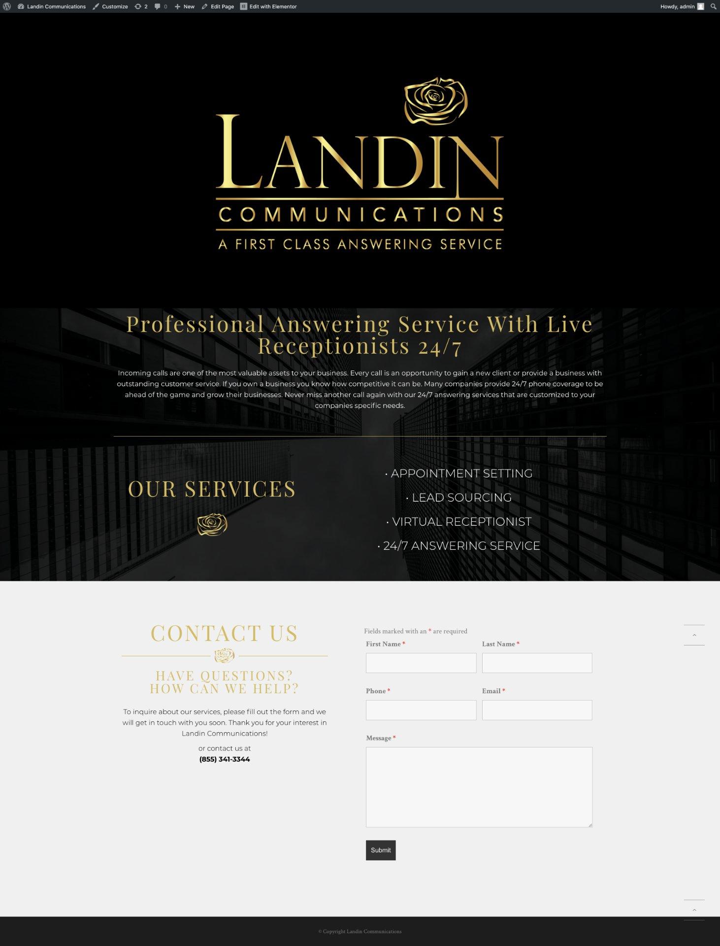 Landincom_Website