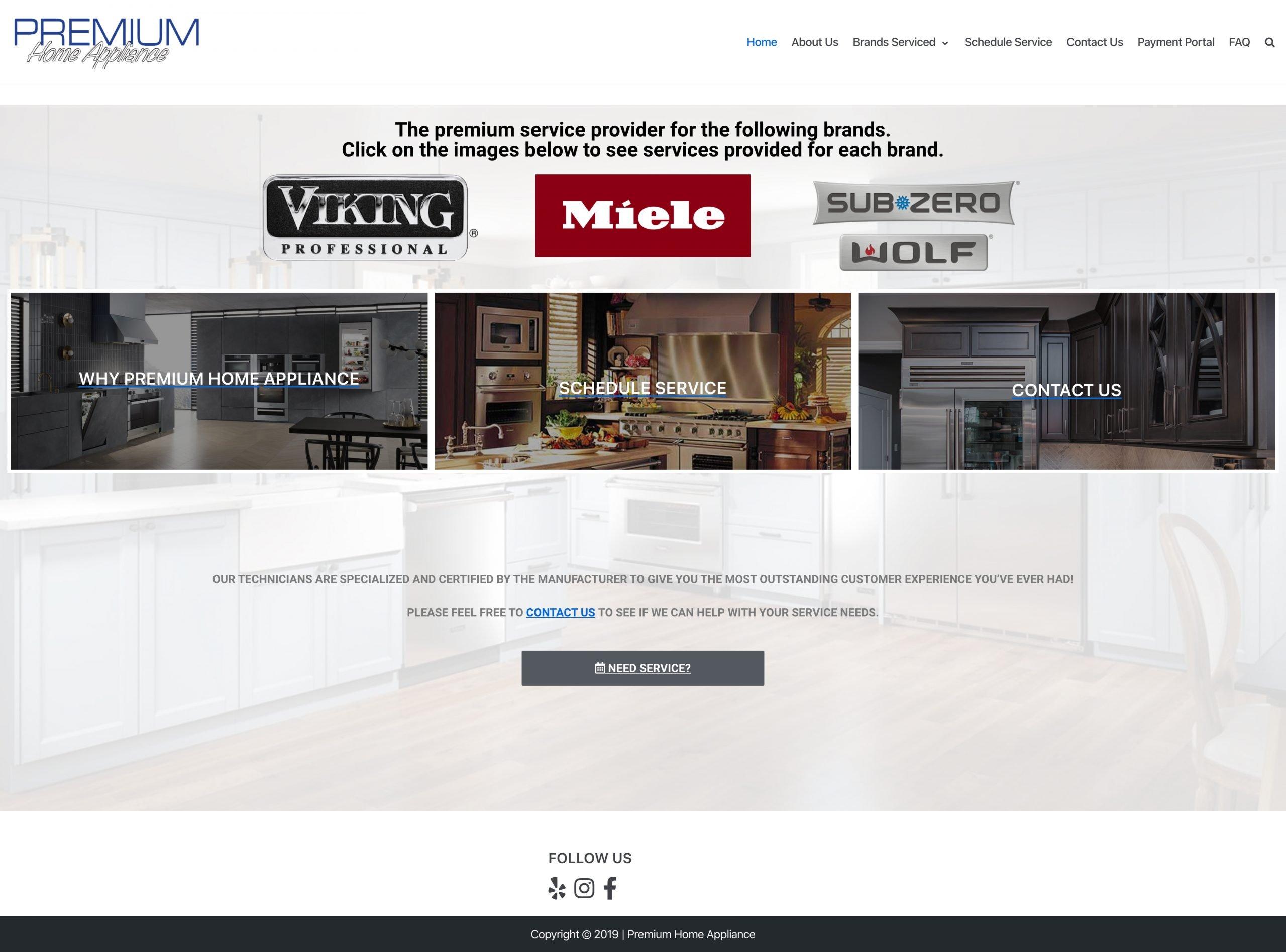PHA_Applicnace_Website