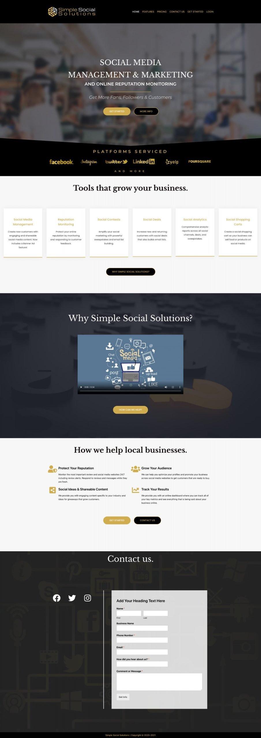 simpleSocialSolution